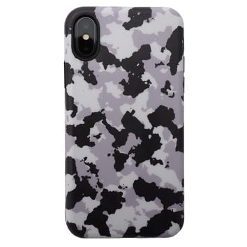 iPhone XS / X Case - Night Camo