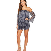 The Jetset Diaries Midnight Paisley Romper
