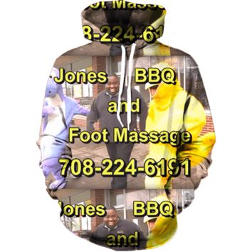 Jones BBQ and Foot Massage Hoodie