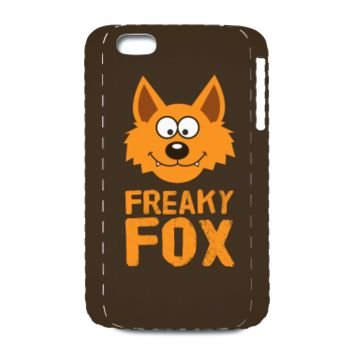 Funny Cute Fox / Freaky Fox - Phone Case Phone & Tablet Cases