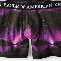 AEO Men's Photo Real Athletic Trunk (Purple)