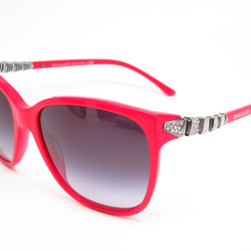 Bvlgari BV 8136B 5317/8G Fire Red Sunglasses