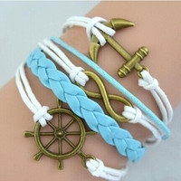 Essential Fashion 4 Color Handmade Multilayer Bangle Bracelet