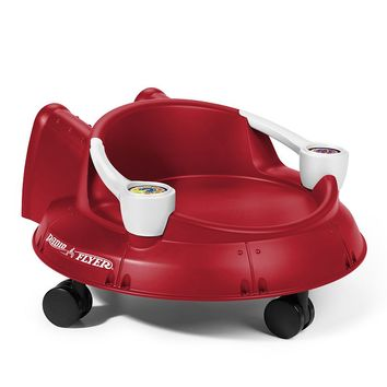 Radio Flyer Spin 'N Saucer Ride-On (Red)