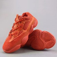 Trendsetter Adidas Yeezy 500 Bl8 Fashion Casual  Sneakers Sport Shoes