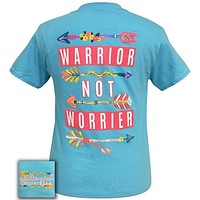 Girlie Girl Originals Preppy Warrior Not Worrier T-Shirt