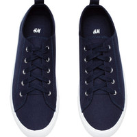 Twill Sneakers - from H&M