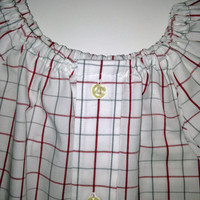 Send your Shirt, Baby Dress Made from Your Shirt, Men's Shirt Peasant Dress for Baby, Baby Peasant Dress, I Use Your Shirt Baby Dress