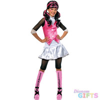 Tween/Teen Girl's Costume: Monster High Draculaura-Large