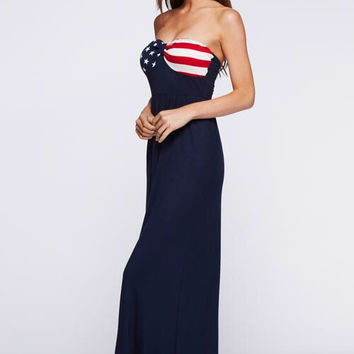 4th of July Maxi Dress
