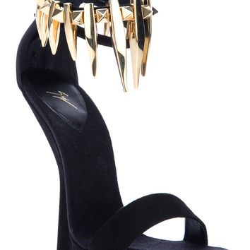 Giuseppe Zanotti Design Sculpted Wedge Sandal