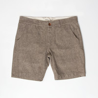 Tan Chambray Short