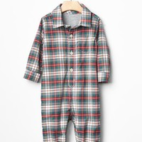 Gap Plaid Flannel One Piece