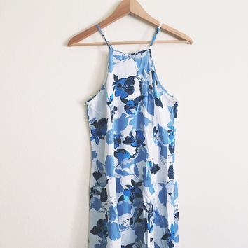 Katharina Floral Halter Dress