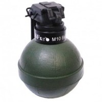 M10 Ball Grenade Pea Filled TLSFx Pyrotechnics | ISO Approved | Milsim Pyro | Paintball