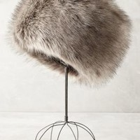 Helen Moore Zosia Faux-Fur Hat in Silver Size: One Size Accessories