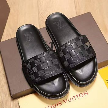 Louis Vuitton Lv Flip Flop Sandal Men Slipper