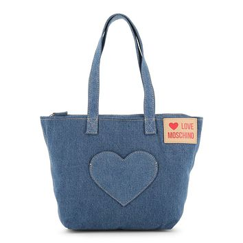 Love Moschino Women Blue Shoulder bags