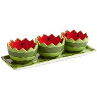 Watermelon Condiment Set