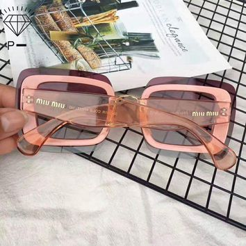 ONETOW Miu Miu sexy goddess sunglasses noble sexy, elegant and mysterious, irresistible temptation