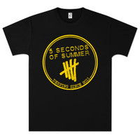 5 Seconds Of Summer Derping Stamp T-Shirt