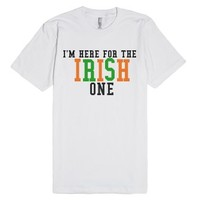 The Irish One-Unisex White T-Shirt