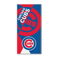 Chicago Cubs MLB ?Puzzle? Over-sized Beach Towel (34in x 72in)