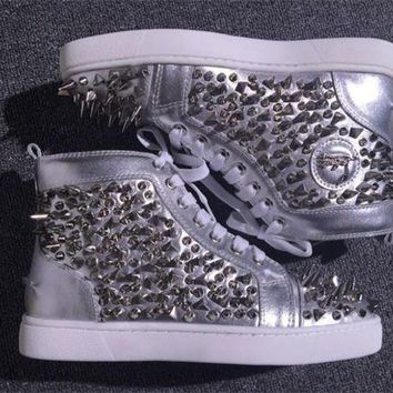 DCCK2 Cl Christian Louboutin Pik Pik Style #1991 Sneakers Fashion Shoes