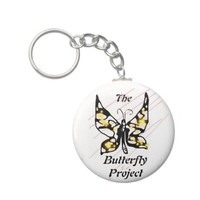 The Butterfly Project Key Chain from Zazzle.com