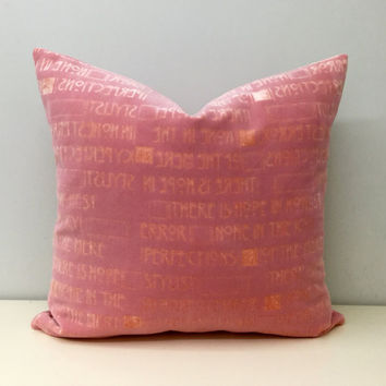 Pink Velvet Pillow Cover,Pink Pillow,Pink Pillows,Velvet Pillow,Pink Throw Pillow,Pink Velvet Couch Cushion Covers,Pink Velvet Throw Pillows