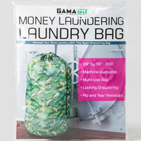 MONEY LAUNDERING LAUNDRY BAG