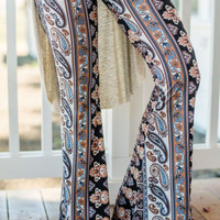 Woodstock Paisley Hause Flare Pants