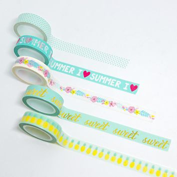 Lovedoki Summer Series Washi Tape