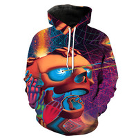 American Hippie Take a Trip Psychedelic Art Hoodie