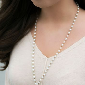 Get Charmed Pearl Necklace