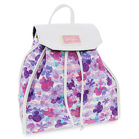Mickey and Minnie Mouse Icons Floral Backpack - Disney Boutique | Disney Store