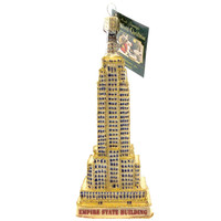 Old World Christmas EMPIRE STATE BUILDING Glass Ornament New York 20059