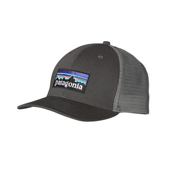 Patagonia Trucker Hat P-6 | Forge Grey
