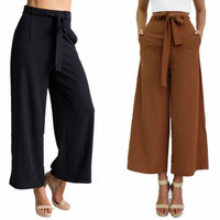 Large bust waist trousers pantyhose