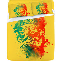 DENY Designs Home Accessories | Budi Kwan King Of The Jungle Sunkiss Sheet Set