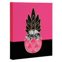 Elisabeth Fredriksson Precious Pineapple 2 Art Canvas