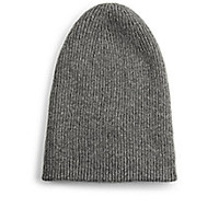 Helmut Lang - Lux Ribbed Beanie - Saks Fifth Avenue Mobile