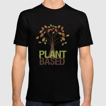 Plant Based Fall Tree T-shirt by UMe Images