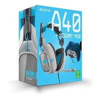 ASTRO Gaming A40 Headset + Mixamp M80 - Light Grey/Blue - Xbox One [2014 model]