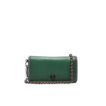 Coach 1941 Colorblock Dinky Bag in Cypress & Black | FWRD