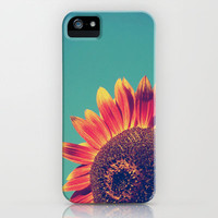 Summer Sunflower iPhone & iPod Case by Olivia Joy StClaire