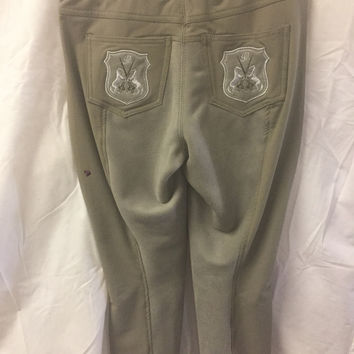 New Goode Rider Full Seat Breeches 26L Chocolate