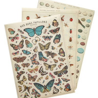 Woodland Creature Awe Naturel Print Set by ModCloth