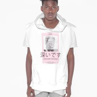 Cut-Off Gallery Exhibition Hoodie in White