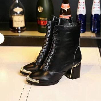 Chanel Women Heels Shoes Boots-21